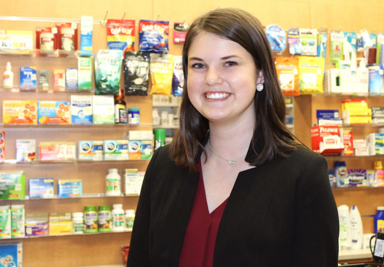 Alex Mabry's scholarship, provided by Dr. and Mrs. Charles Walker, helps her concentrate on her studies in biology, chemistry, and psychology, and allows her to pursue her dreams of becoming either a trauma surgeon or obstetric gynecologist.