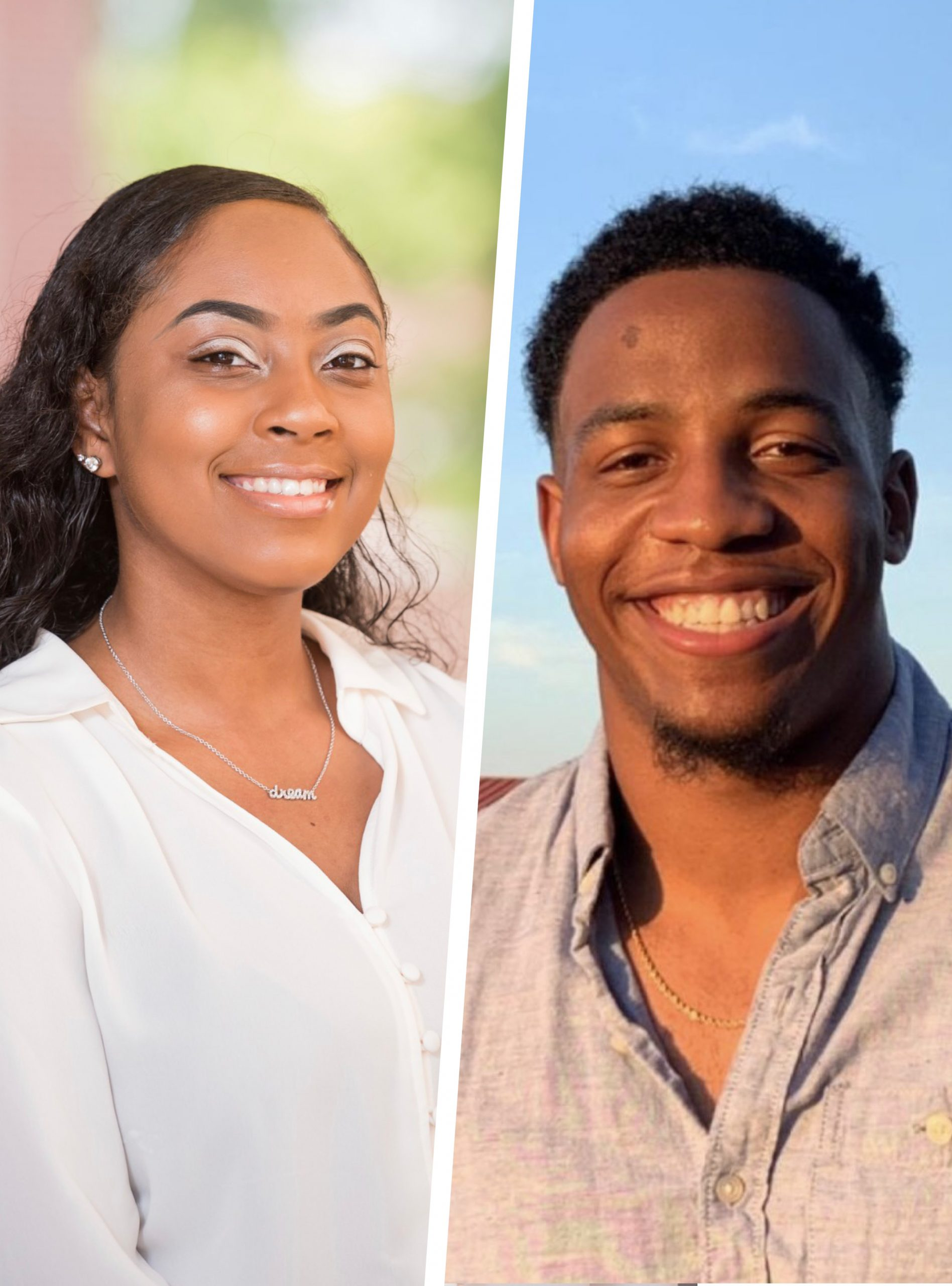 Madison Carr and LeMarcus Echoles, Psychology Student Ambassadors